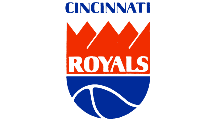 Cincinnati Royals Logo 1972