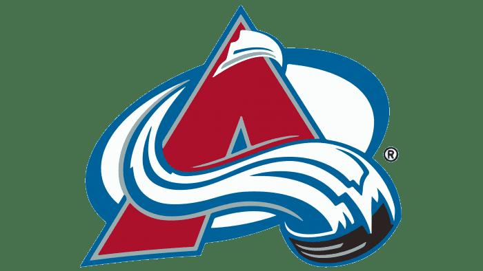 Colorado Avalanche Logo1995-1999