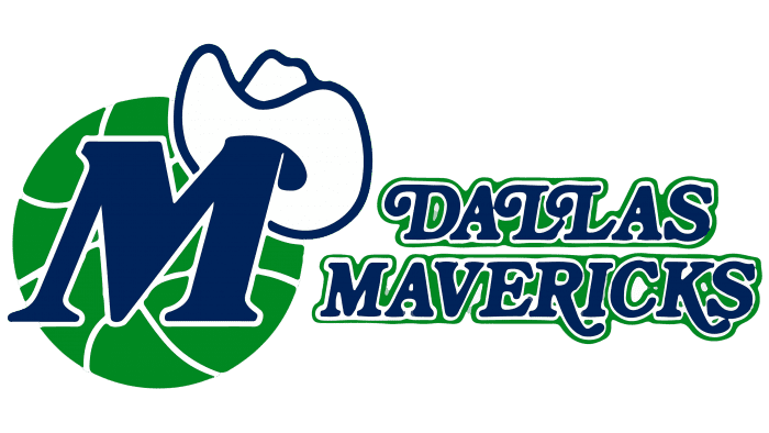 Dallas Mavericks Logo 1980-1993