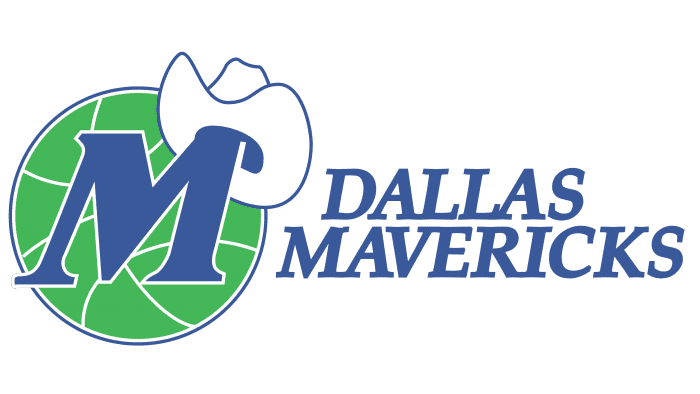 Dallas Mavericks Logo 1993-2001