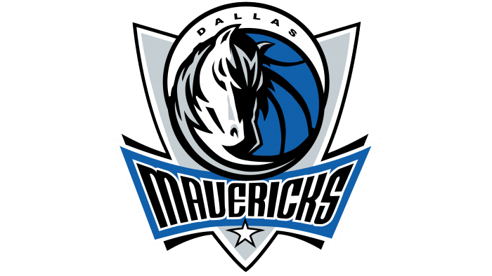 Dallas Mavericks Logo 2001-2017