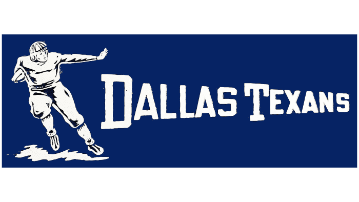 Dallas Texans Logo 1952