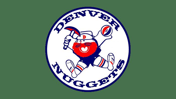 Denver Nuggets Logo 1974-1976