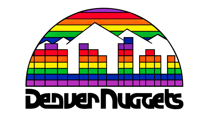 Denver Nuggets Logo 1982-1993