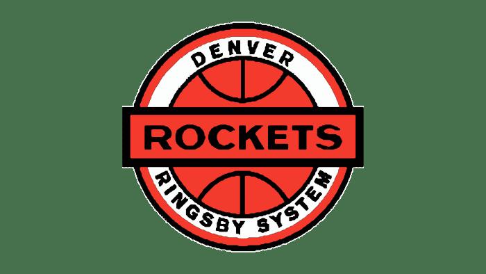 Denver Rockets Logo 1968-1971