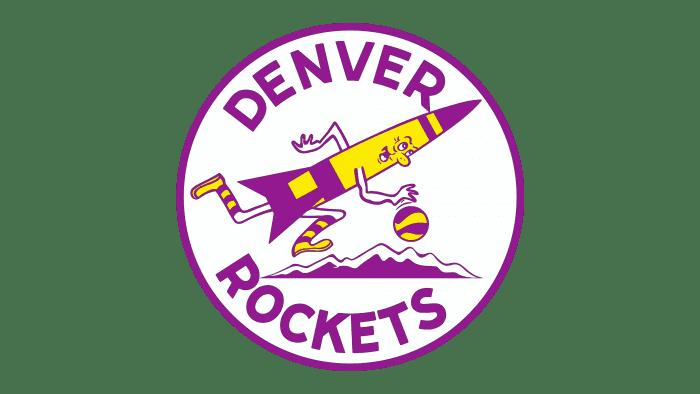 Denver Rockets Logo 1972-1974