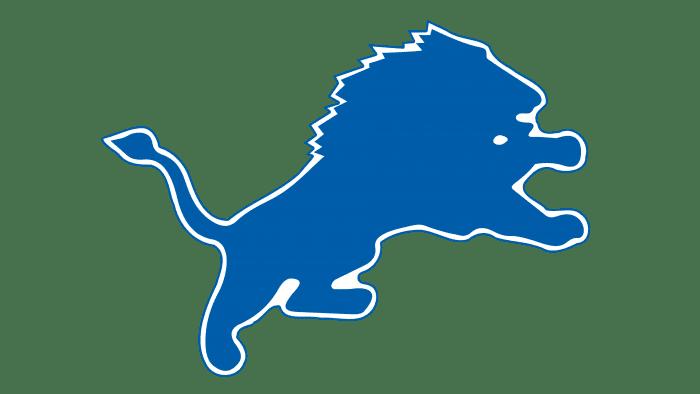 Detroit Lions Logo 1970-2002