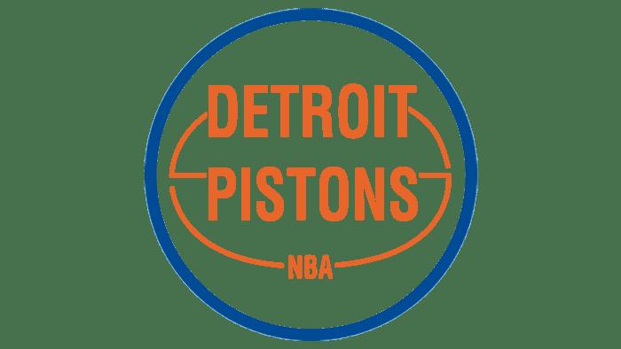 Detroit Pistons Logo 1975-1979