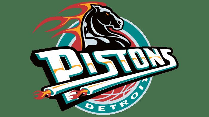 Detroit Pistons Logo 1996-2001