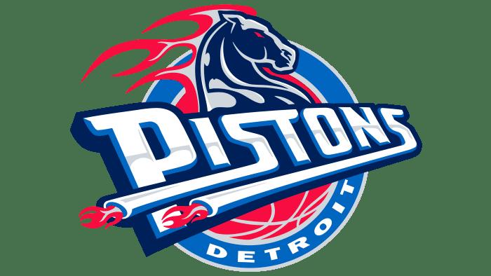 Detroit Pistons Logo 2001-2005