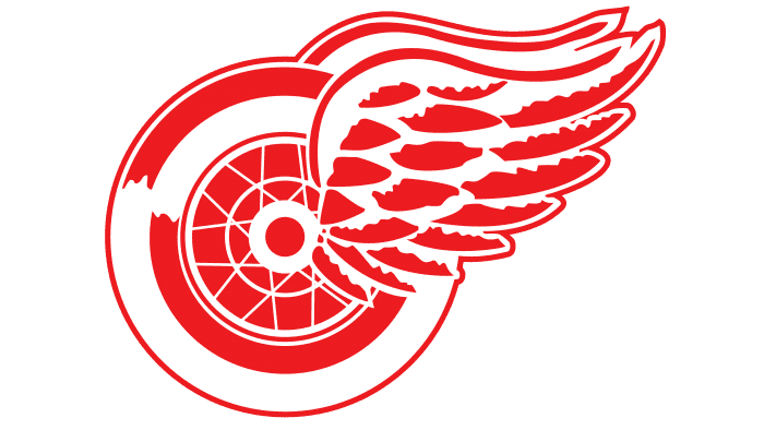 Detroit Red Wings Logo 1933-1948