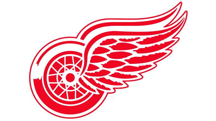 Detroit Red Wings Logo 1949-Present