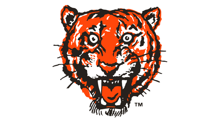 Detroit Tigers Logo 1957-1960