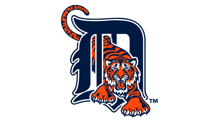 Detroit Tigers Logo 1994-2005