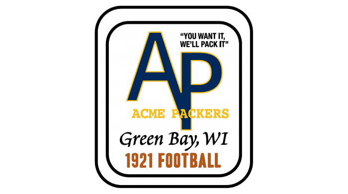 Green Bay Packers Logo 1921
