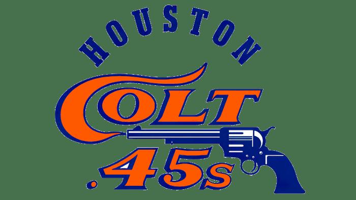 Houston Colt.45s Logo 1962-1964
