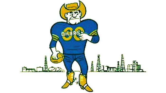 Houston Oilers Logo 1960-1961