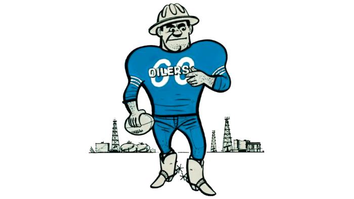 Houston Oilers Logo 1961-1968