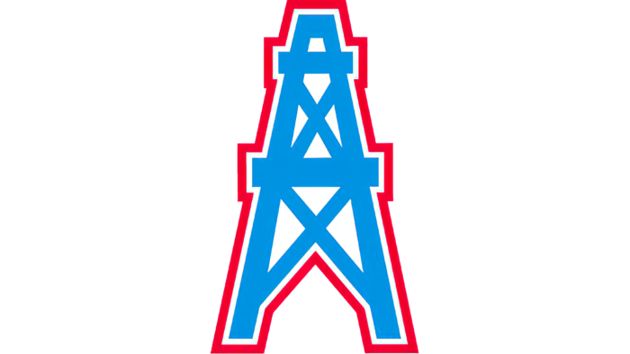 Houston Oilers Logo 1980-1996