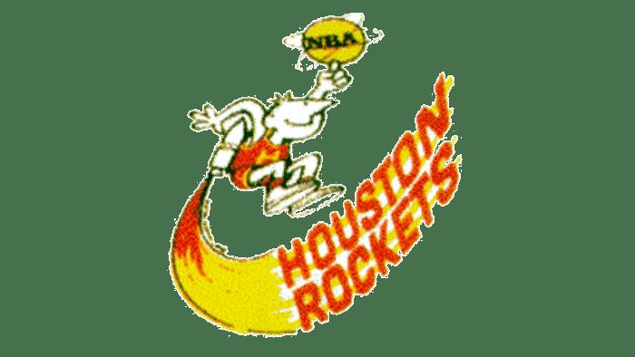 Houston Rockets Logo 1971-1972