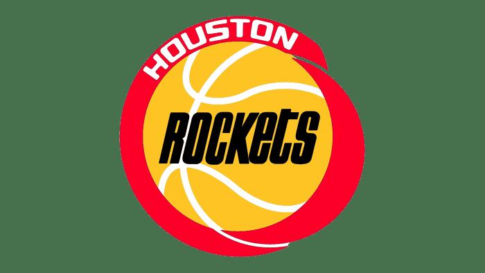Houston Rockets Logo 1972-1995