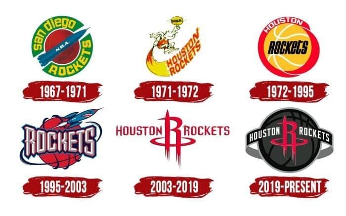 Houston Rockets Logo History