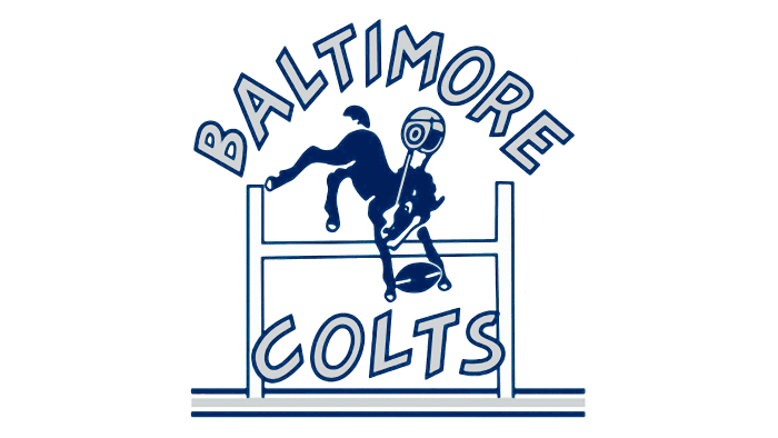Indianapolis Colts Logo 1953-1960