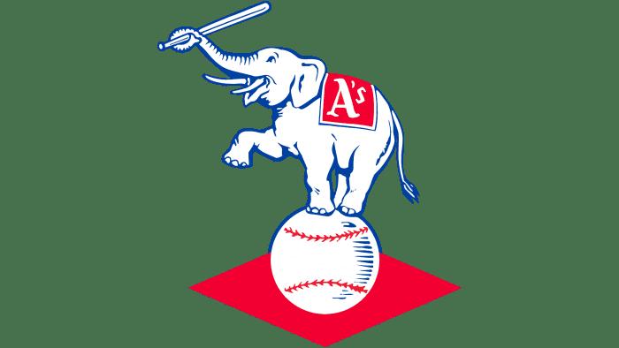 Kansas City Athletics Logo 1955-1967