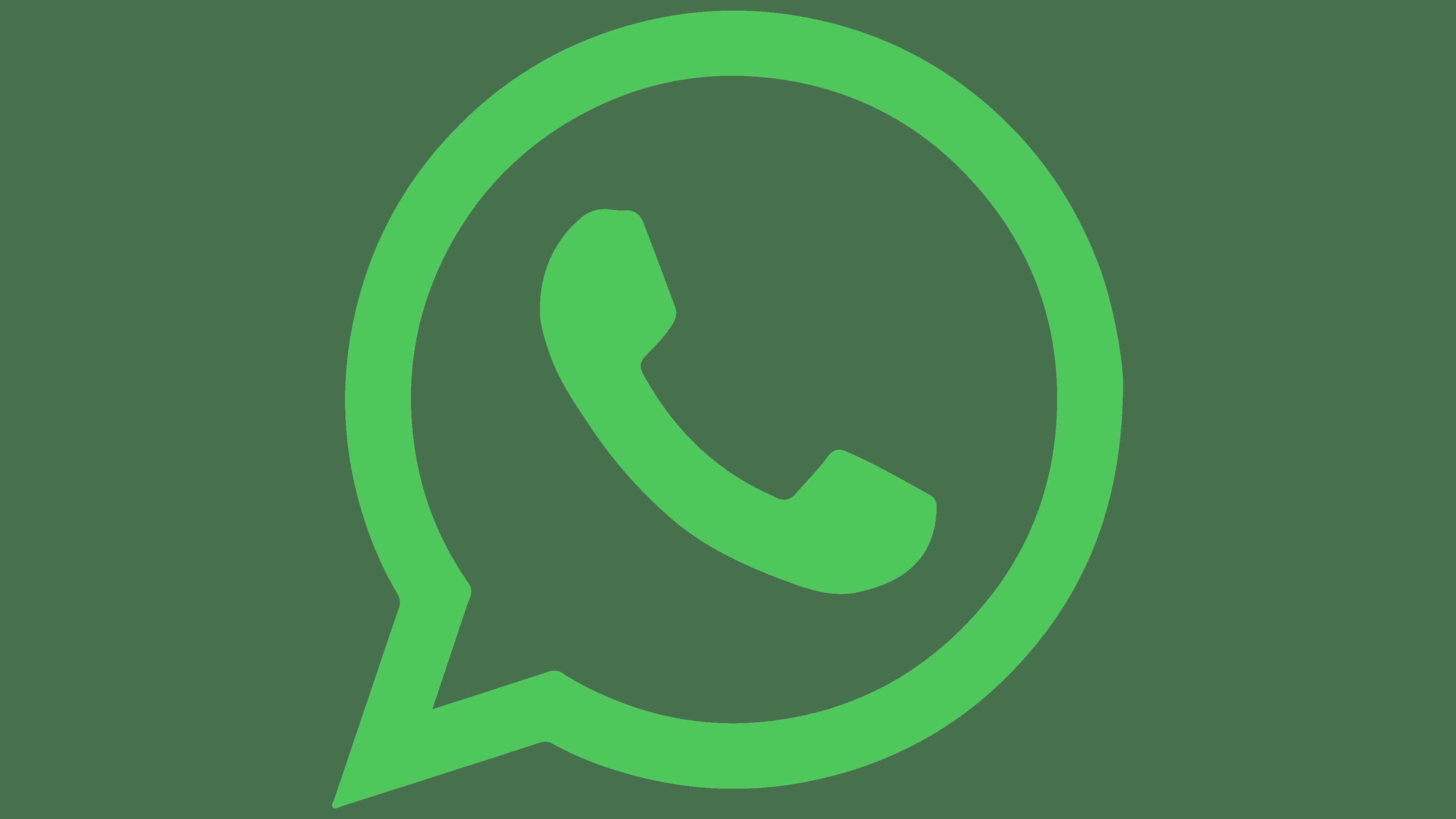 WhatsApp Logo   Symbol, History, PNG (3840*2160)