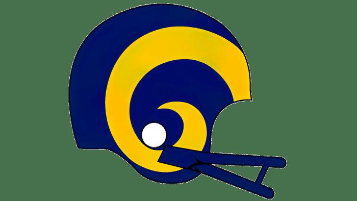 Los Angeles Rams logo 1983-1988