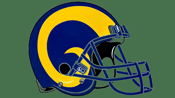 Los Angeles Rams logo 1989-1994