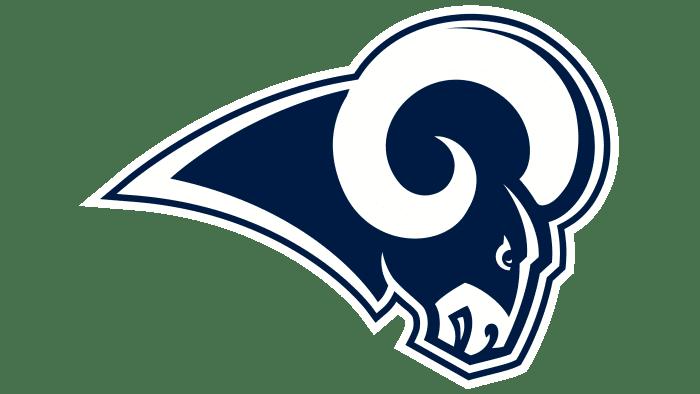 Los Angeles Rams logo 2017-2019