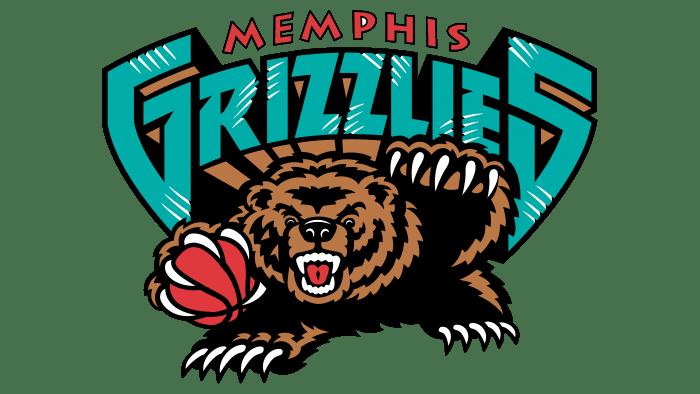 Memphis Grizzlies Logo 2002-2004