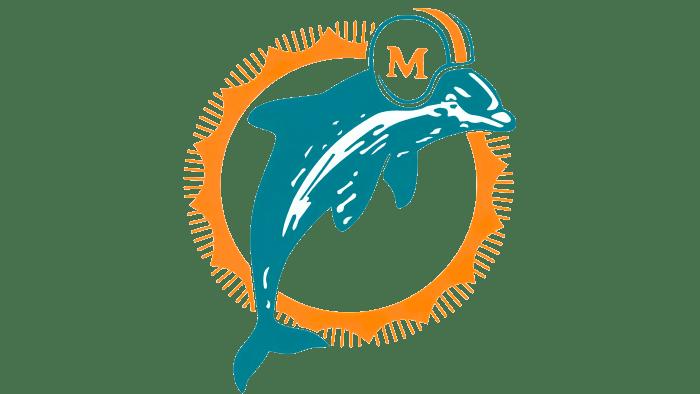 Miami Dolphins Logo 1974-1989
