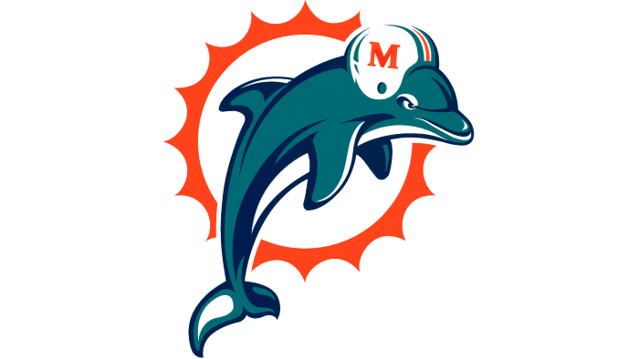 Miami Dolphins Logo 1997-2012