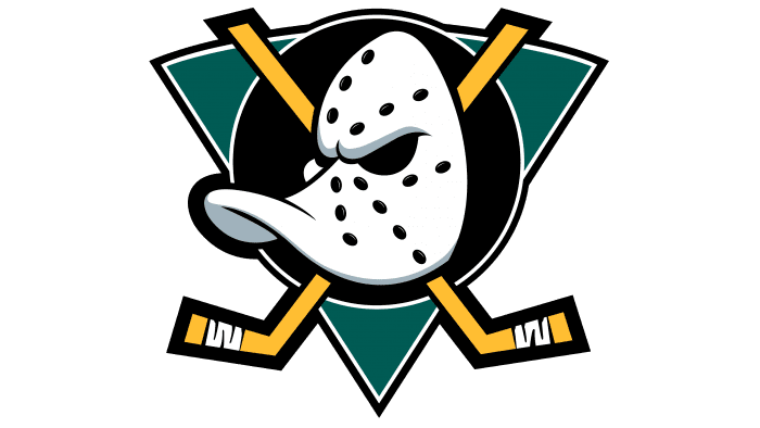 Mighty Ducks of Anaheim Logo 1993-2006