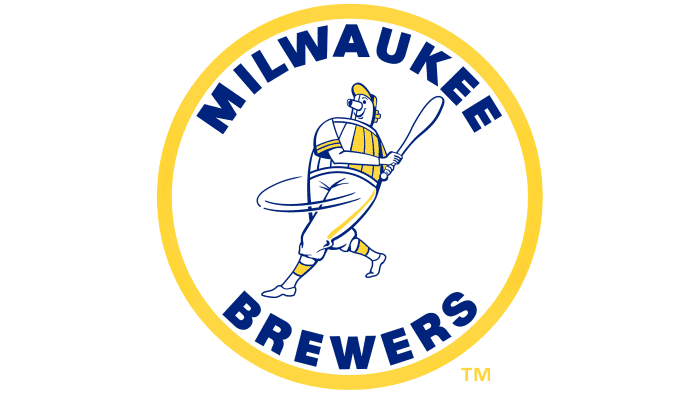 Milwaukee Brewers Logo 1970-1977