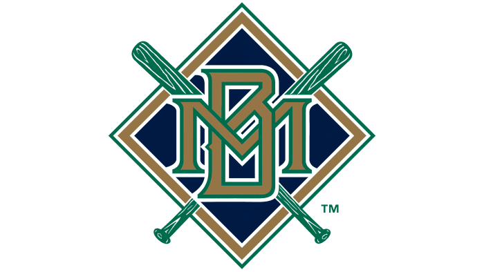 Milwaukee Brewers Logo 1994-1997