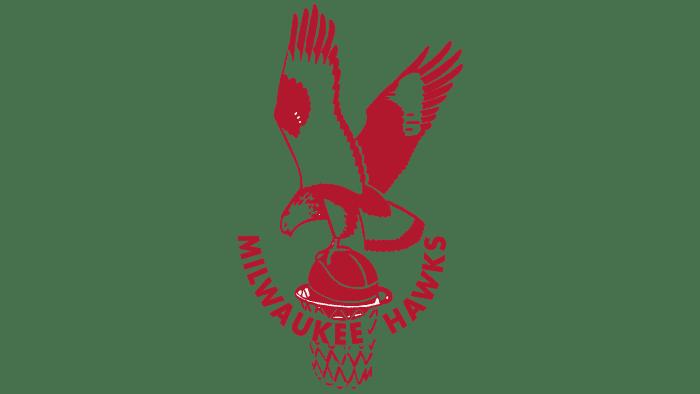 Milwaukee Hawks Logo 1951-1955