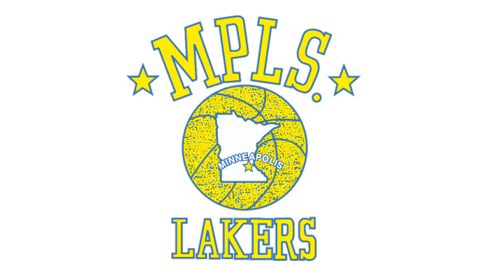 Minneapolis Lakers Logo 1948-1960