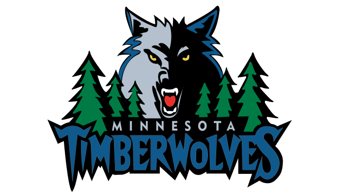 Minnesota Timberwolves Logo 1997-2008