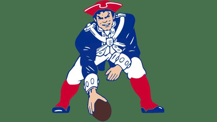 New England Patriots Logo 1972-1988