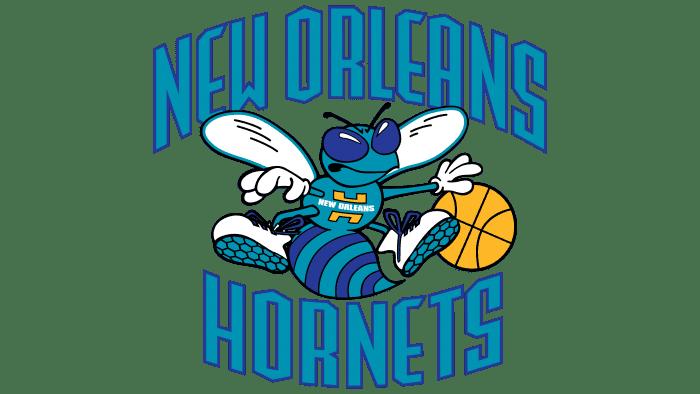 New Orleans Hornets Logo 2003-2008