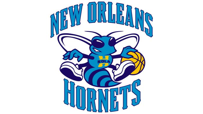 New Orleans Hornets Logo 2009-2013