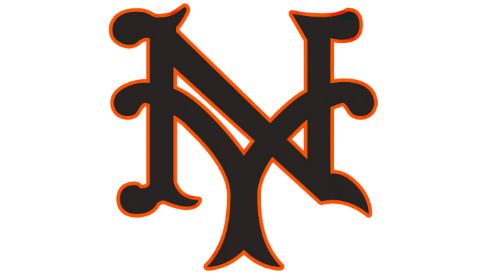 New York Giants Logo 1933-1935