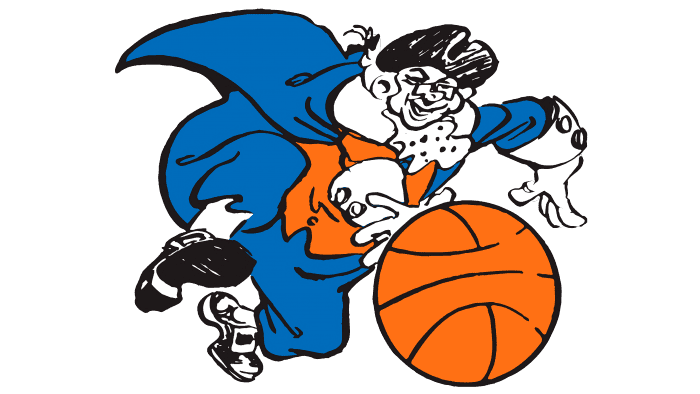 New York Knicks Logo 1946-1964