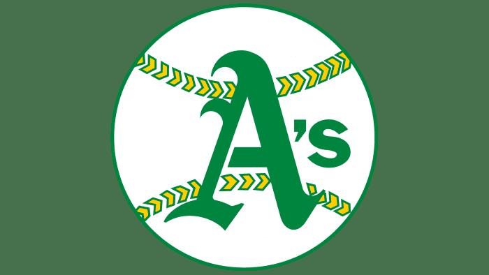 Oakland Athletics Logo 1968-1970