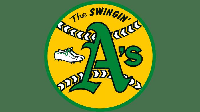 Oakland Athletics Logo 1971-1981