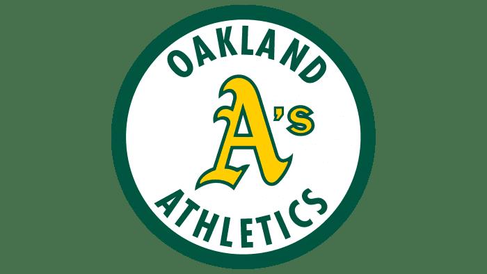 Oakland Athletics Logo 1982-1992