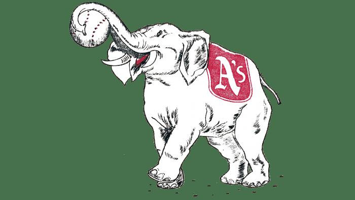 Philadelphia Athletics Logo 1939-1953